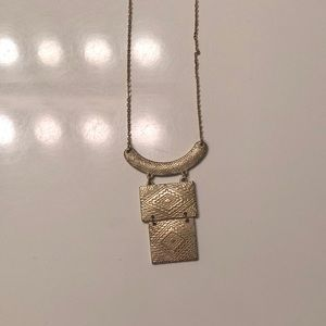 H&M Gold Geometric Necklace